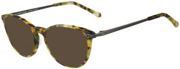 Prodesign Denmark PD4734 sunglasses in Green Medium Demi