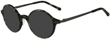Prodesign Denmark PD4735 sunglasses in Black Dark Demi