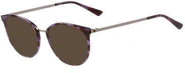 Prodesign Denmark PD4755 sunglasses in Aubergine Medium Demi