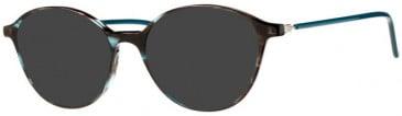 Prodesign Denmark PD4767 sunglasses in Bluish Black Medium Shiny