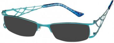 Prodesign Denmark PD5120 sunglasses in Turquoise Medium Matt