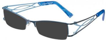 Prodesign Denmark PD5121 sunglasses in Blue Dark Matt