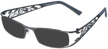 Prodesign Denmark PD5129 sunglasses in Aubergine Dark Matt