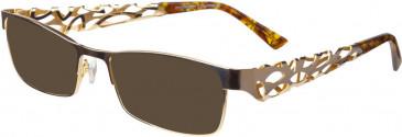 Prodesign Denmark PD5140 sunglasses in Gold Medium Shiny