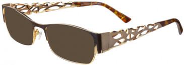 Prodesign Denmark PD5141 sunglasses in Gold Medium Shiny