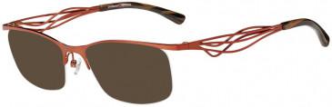 Prodesign Denmark PD5150 sunglasses in Orange Medium Matt