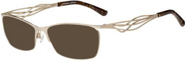 Prodesign Denmark PD5151 sunglasses in Gold Medium Matt