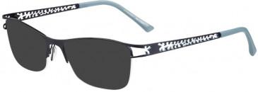 Prodesign Denmark PD5153 sunglasses in Blue Dark Matt