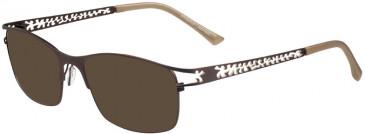 Prodesign Denmark PD5154 sunglasses in Brown Dark Matt