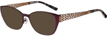 Prodesign Denmark PD5155 sunglasses in Aubergine Dark Matt