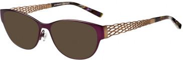 Prodesign Denmark PD5156 sunglasses in Aubergine Dark Matt