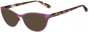 Prodesign Denmark PD5157 sunglasses in Aubergine Dark Matt
