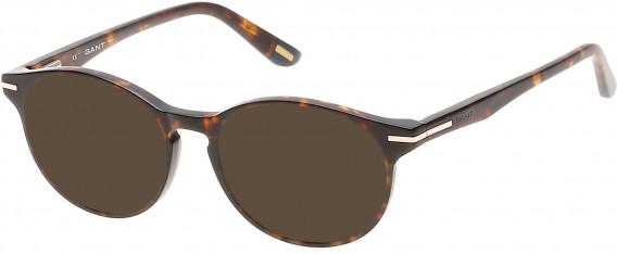 Gant GA3060 Sunglasses in Dark Havana