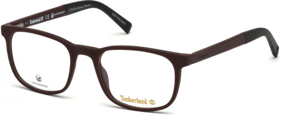 Timberland TB1583-56 Glasses in Matte Bordeaux