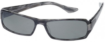 Prodesign Denmark 8601 sunglasses in Antracite Dark Shiny