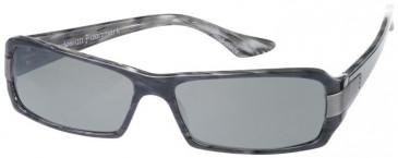 Prodesign Denmark 8602 sunglasses in Antracite Dark Shiny