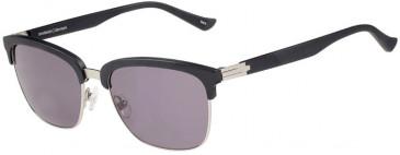 Prodesign Denmark 8651 sunglasses in Black Medium Matt