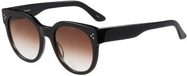Prodesign Denmark 8652 sunglasses in Black Dark Shiny