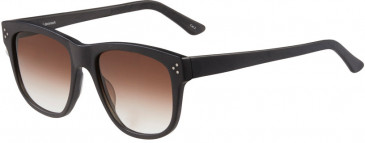 Prodesign Denmark 8654 sunglasses in Black Dark Matt