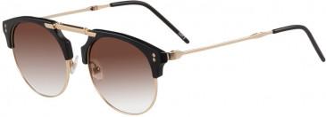 Prodesign Denmark 8655 sunglasses in Black Medium Matt