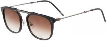 Prodesign Denmark 8656 sunglasses in Black Dark Matt