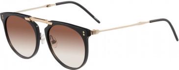 Prodesign Denmark 8657 sunglasses in Black Medium Matt