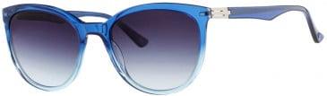 Prodesign Denmark 8659 sunglasses in Blue Medium Shiny