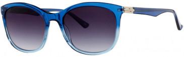 Prodesign Denmark 8660 sunglasses in Blue Medium Shiny