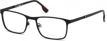 Diesel DL5186 glasses in Matte Black
