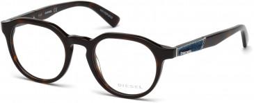 Diesel DL5250 glasses in Dark Havana