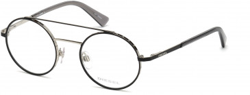 Diesel DL5272 glasses in Black/Other