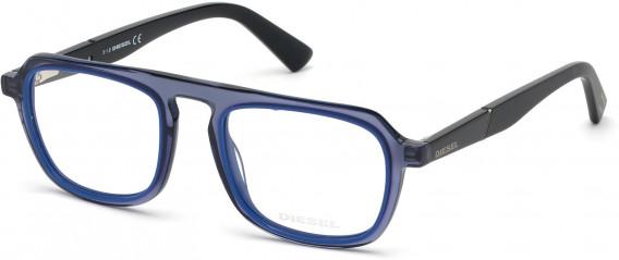 Diesel DL5288 glasses in Shiny Blue