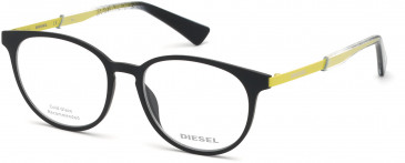 Diesel DL5289 glasses in Matte Black