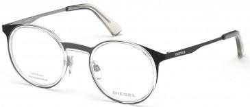 Diesel DL5298 glasses in Black/Other