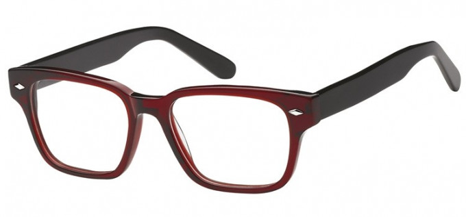SFE-8130 in Clear red/black