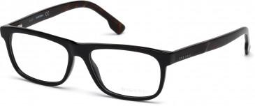 Diesel DL5212 glasses in Shiny Black