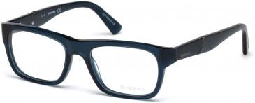 Diesel DL5240 glasses in Shiny Black