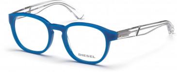 Diesel DL5286 glasses in Shiny Blue