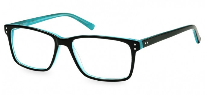 SFE-8145 in Black/clear turquoise