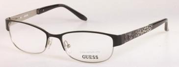 Guess GU2390 glasses in Black/Silver