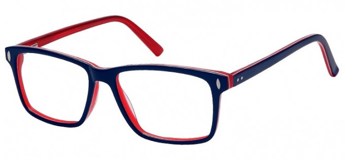 SFE-8153 in Blue/clear red