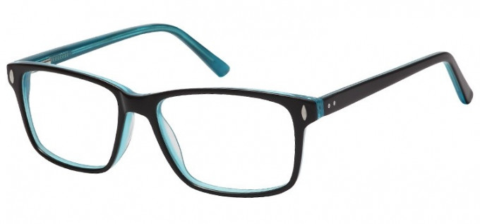 SFE-8153 in Black/Clear turquoise
