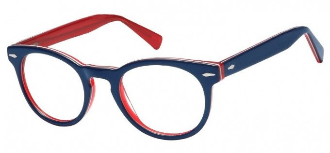 SFE-8155 in Blue/clear red