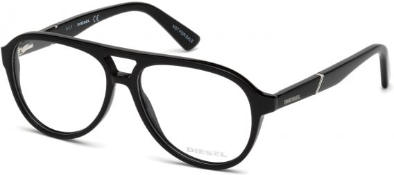 Diesel DL5255 glasses in Shiny Black