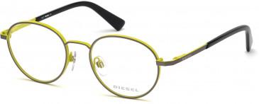 Diesel DL5280 glasses in Matte Gunmetal