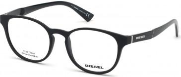 Diesel DL5336 glasses in Matte Black