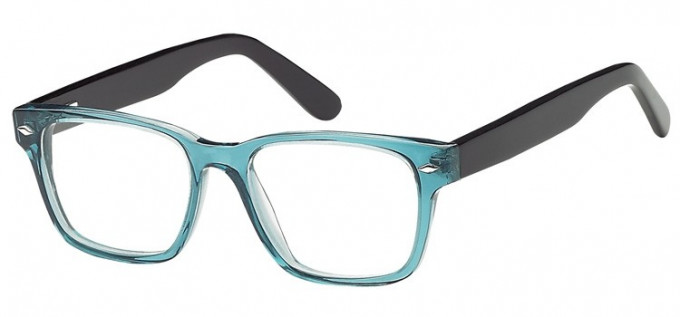 SFE-8175 in Clear turquoise/black