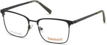 Timberland TB1612-52 glasses in Matte Black