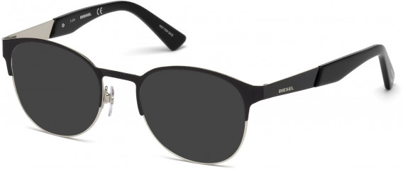 Diesel DL5236 sunglasses in Shiny Black