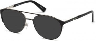 Diesel DL5259 sunglasses in Black/Other